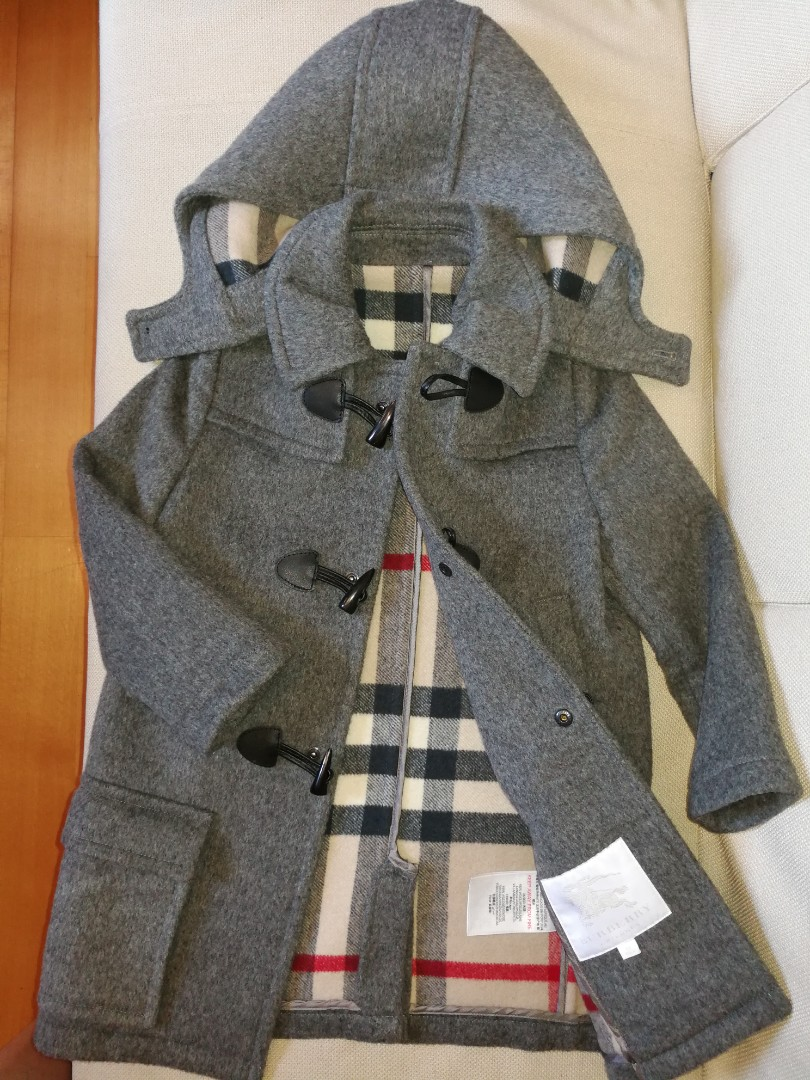 b35954aac Burberry Kids - Classic duffle coat (6Yrs), Babies & Kids, Boys' Apparel on  Carousell