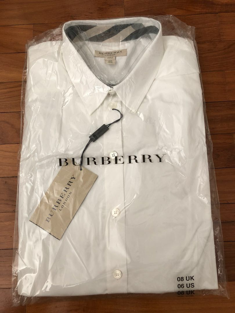 a91db5a9 Burberry Shirts (London), Women's Fashion, Clothes, Tops on Carousell
