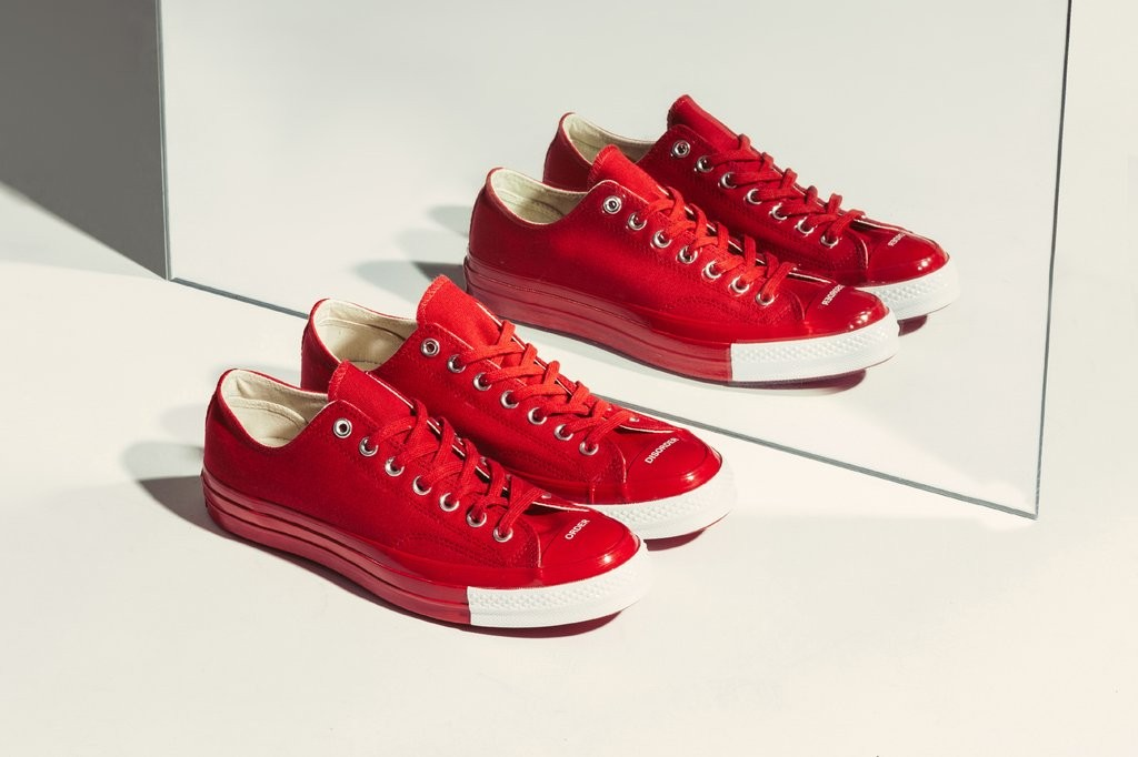 8383fa062ec5 Converse x Undercover Chuck 70  Order Disorder  in Racing Red White ...