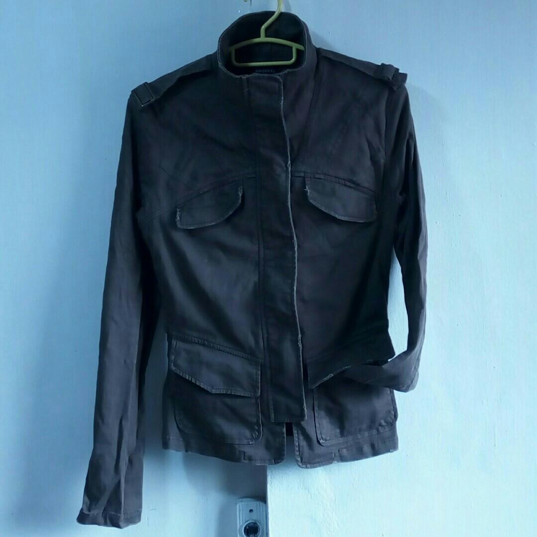 Egoist classic military type jacket 0634b1b9258