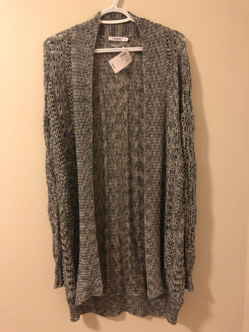 Fall Gray Cardigan