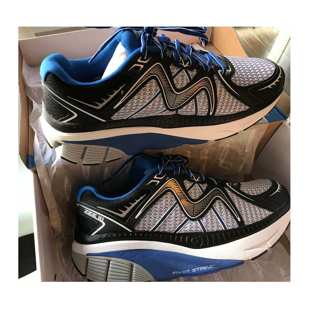 9e611ae6f8bc GENUINE BRAND NEW MBT MEN S ZEE 16 RUNNING SHOES (ELECTRIC BLUE ...