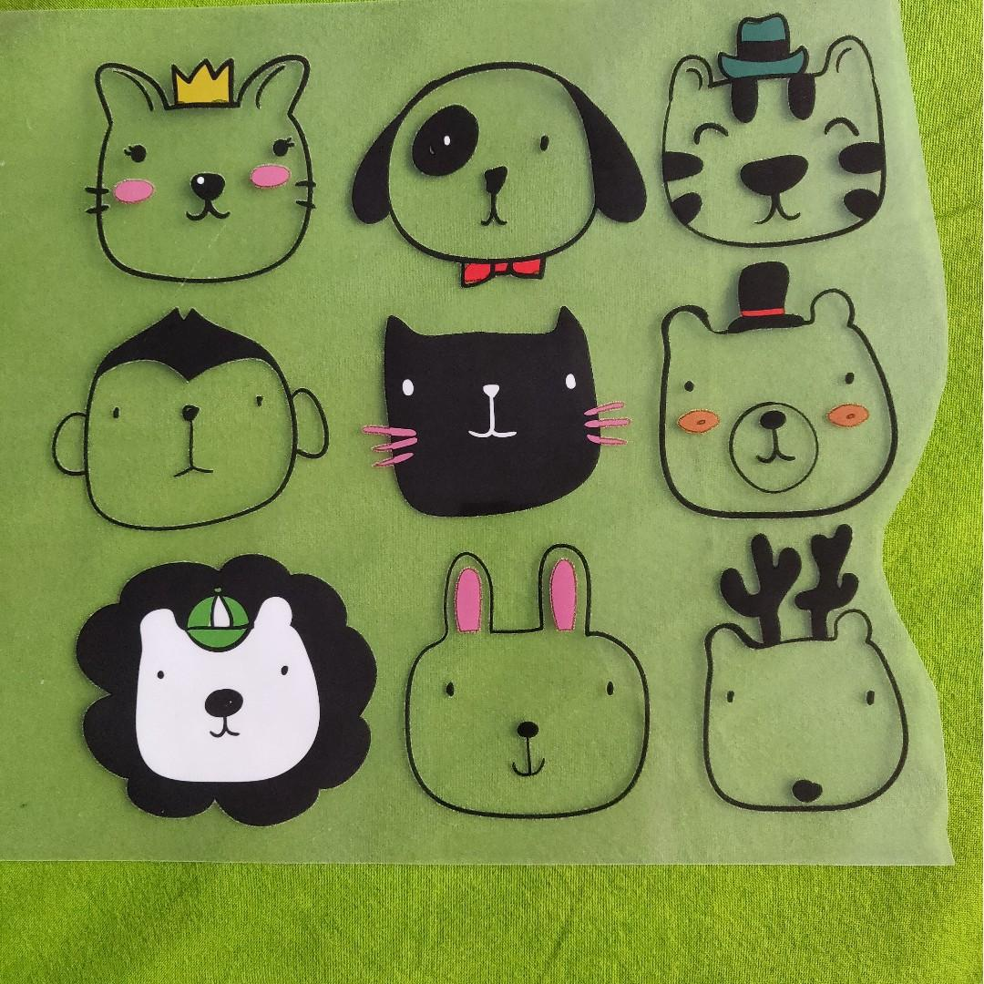 Iron on Patch Cute Dogs t-shirt patch