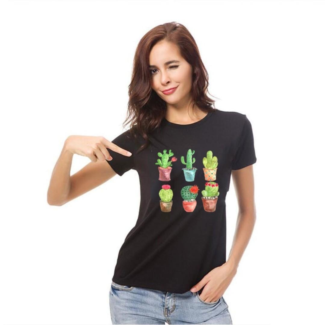 Iron on Patch succulent cactus t-shirt fabric patch