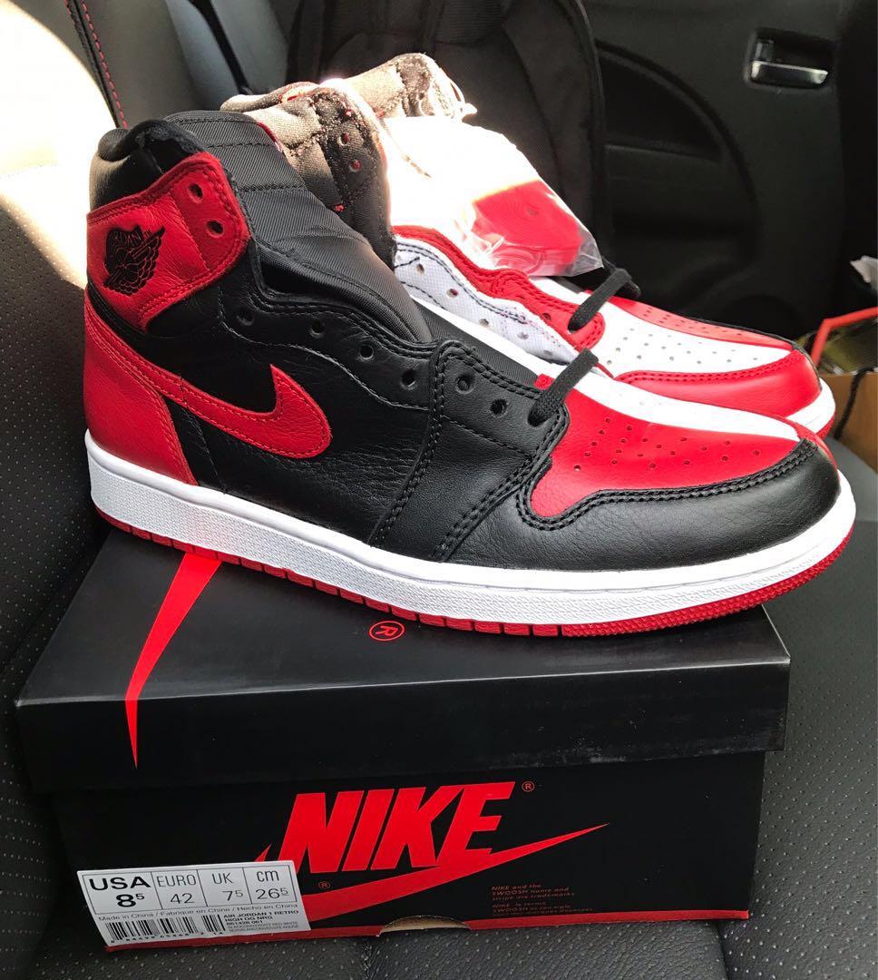 b729bbd954b361 Jordan 1 Homage 2 Home   AJ1 H2H   Nike AJ1
