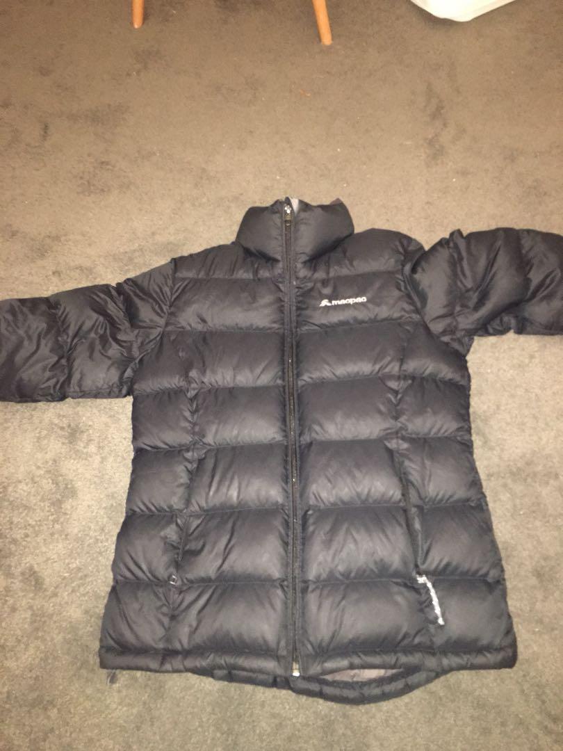 macpac women's puffer jacket