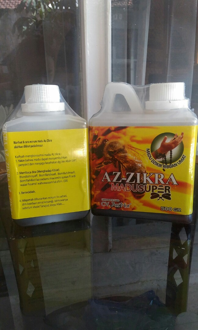 Madu Super Az-Zikra 500 gram, Food & Drinks, Non-Alcoholic Beverages on Carousell