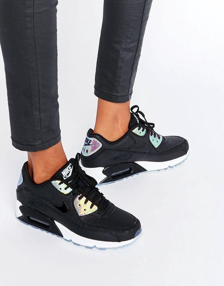 NEGO] Nike Air Max 90 Premium HoloIridescent (Black