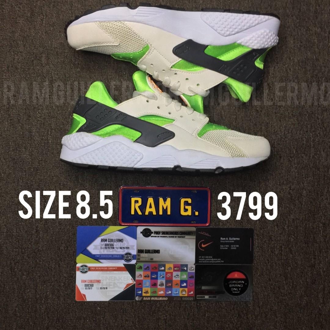 d3e2985f6804 Nike Air Huarache Action Green size 8.5