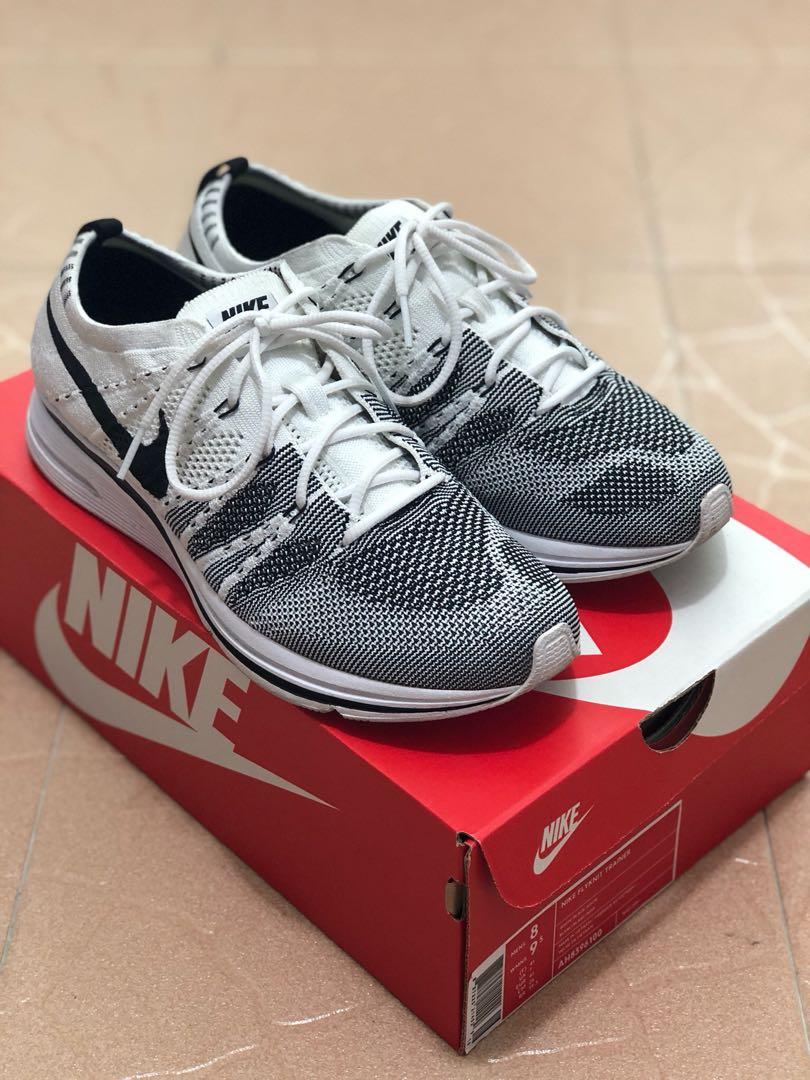 huge selection of 2aebb 4dcd7 Nike Flyknit Trainer White Yeknit 2017, Men's Fashion, Footwear ...
