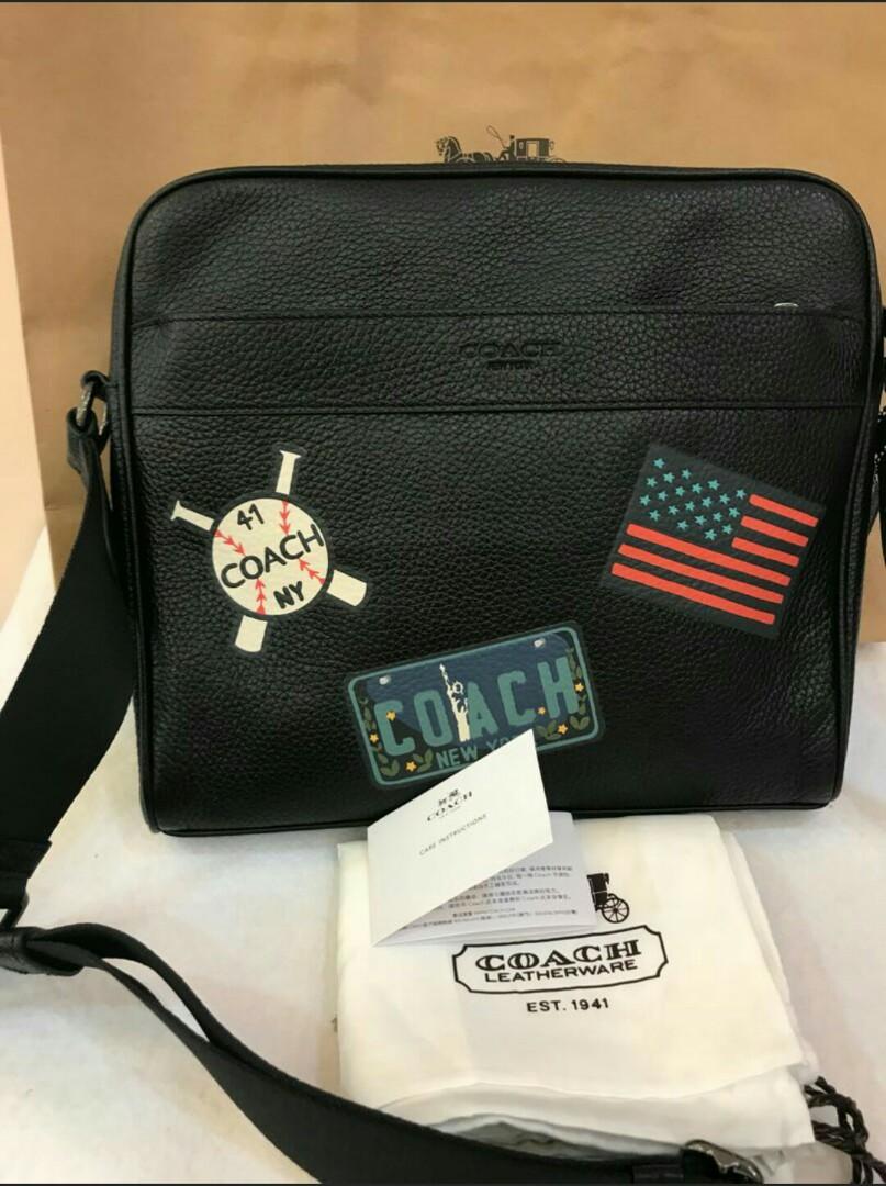 98ffeff30a Original coach men space 1941 men sling bag crossbody bag