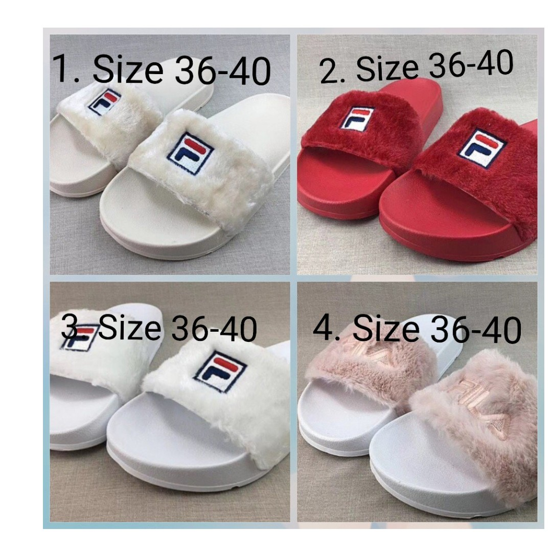 0fc3ed245bc PREORDER FILA SLIP ON, Women s Fashion, Shoes, Flats   Sandals on Carousell