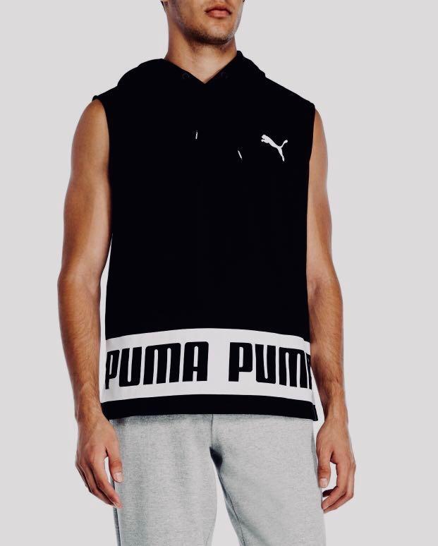d57800faa1ff2 Puma Rebel Sleeveless Essential Hoodie Authentic