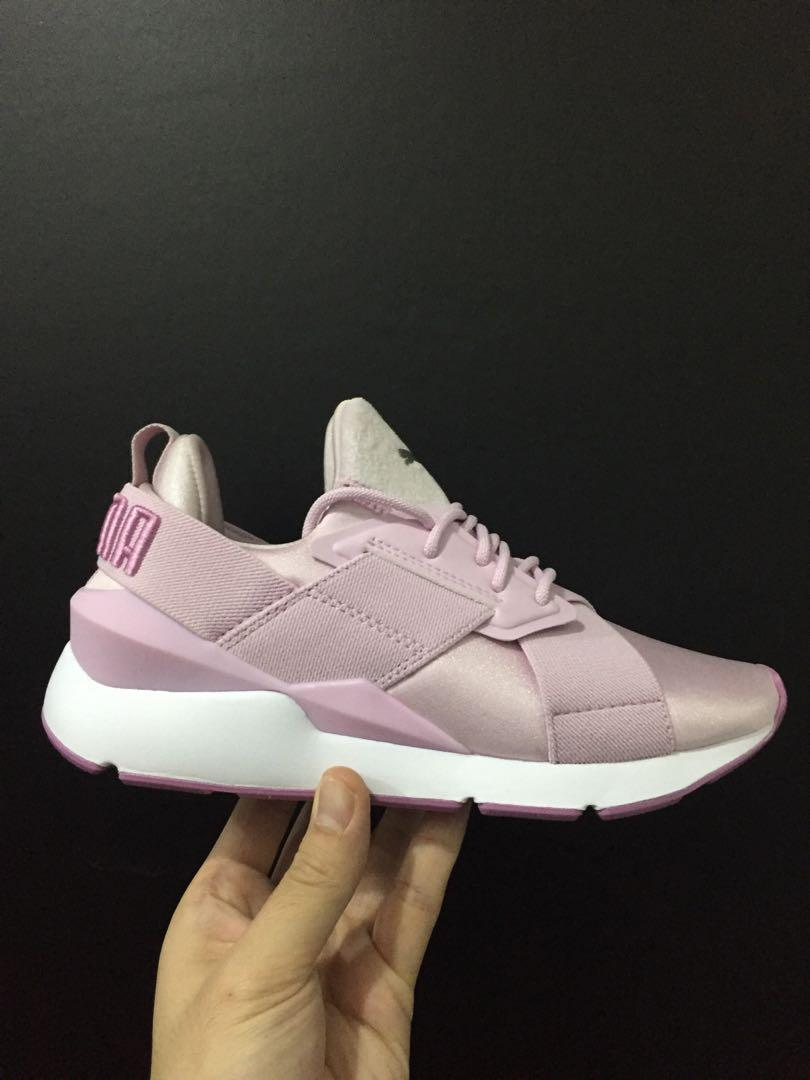 new style 0a119 aa253 Pume muse satin 2, Women's Fashion, Shoes, Sneakers on Carousell
