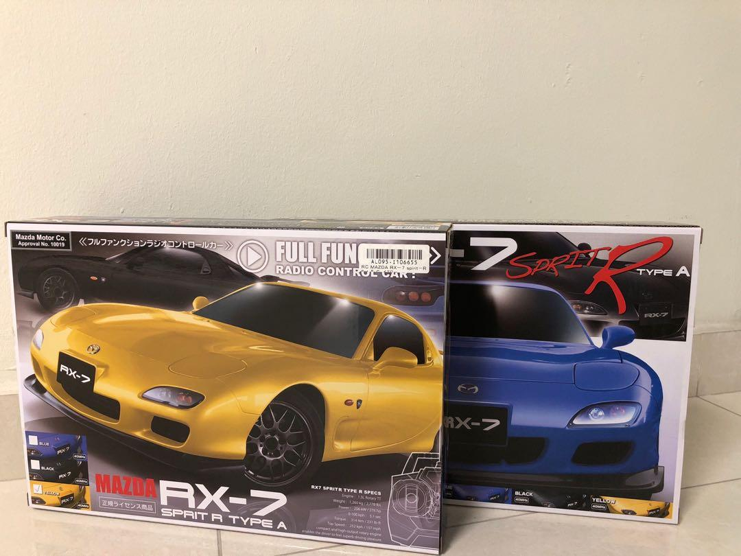Remote control - Mazda Rx 7 Spirit R Type A, Toys & Games