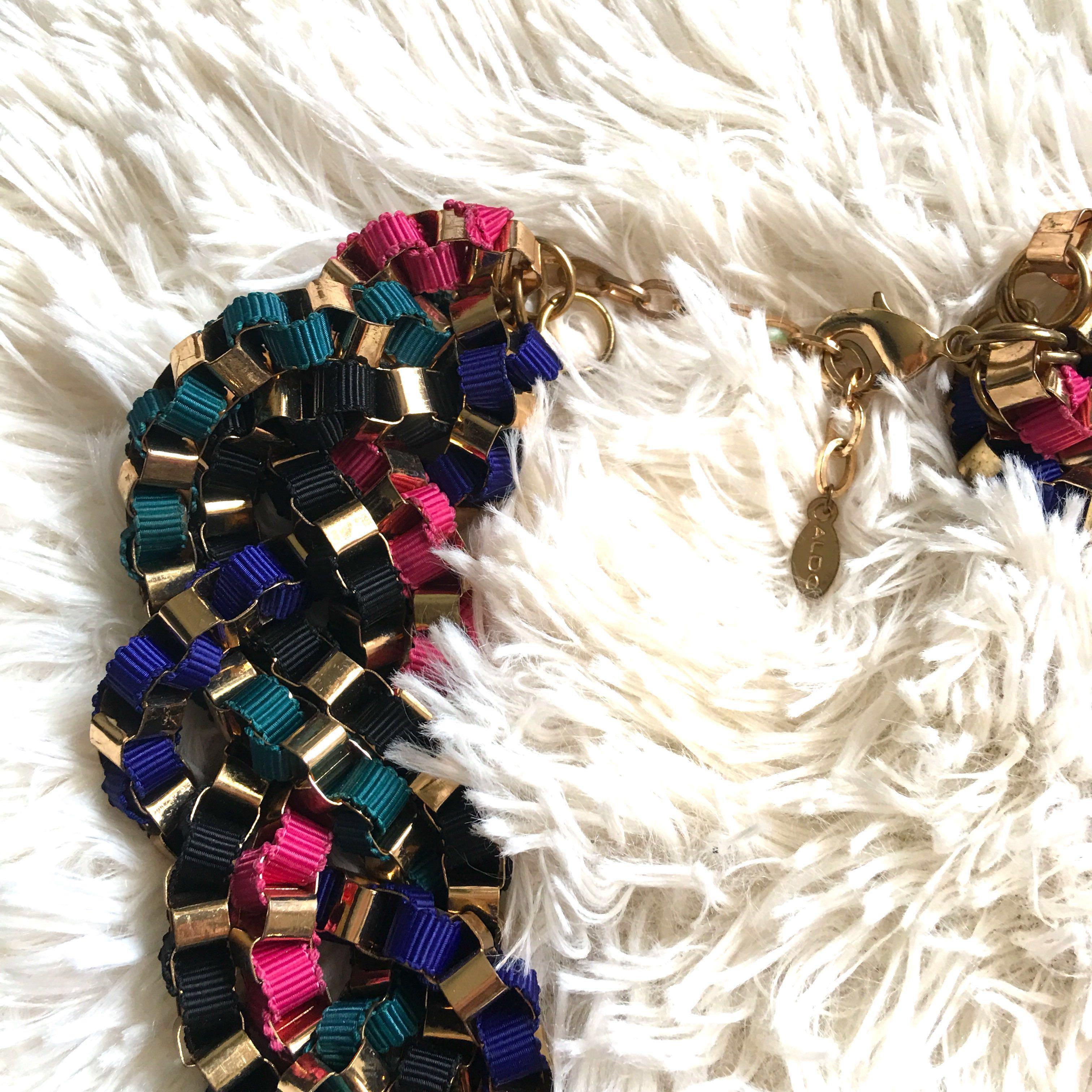 Aldo Statement Multi-colored Necklace