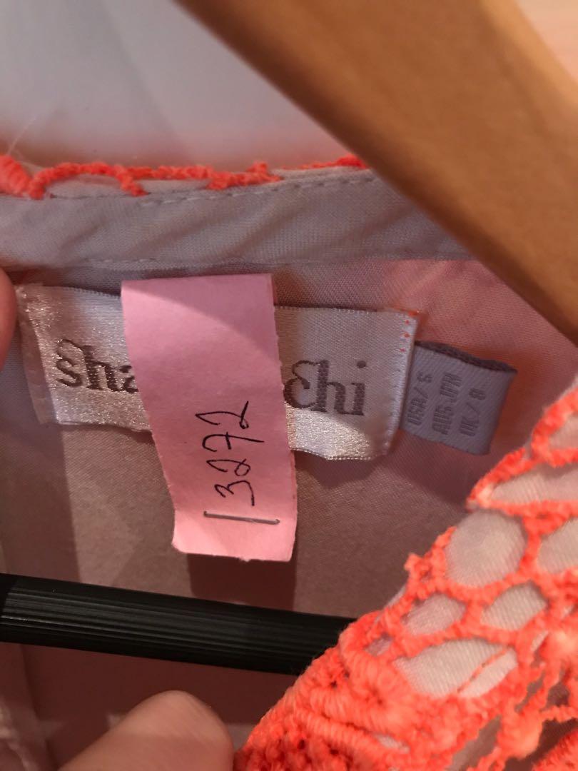 Shakuhachi orange dress