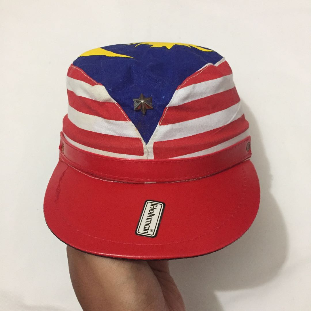 c5c9e474 VINTAGE MALAYSIA CAP, Men's Fashion, Accessories, Caps & Hats on Carousell