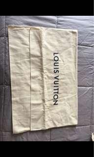 Dust bag lv authentic