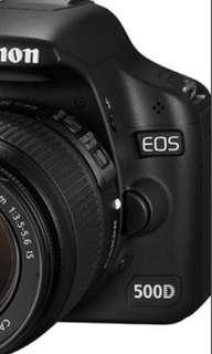 Canon EOS 500D(Body Only)