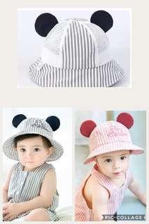 嬰兒透氣防曬魚夫帽(包郵)