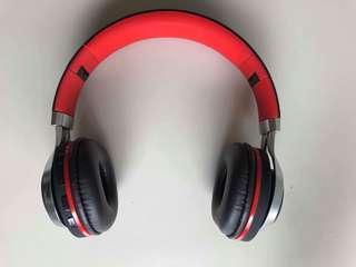 Wireless Blue Headphones