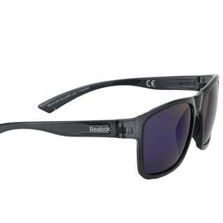 Reebok RB 24 MRF Sunglasses Grey Blue w/ Blue Mirror