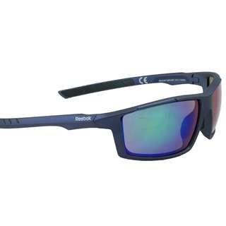 Reebok 23 MRF Sunglasses Navy Green w/Green Mirror