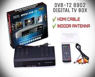 DVB-T2 8902 DIGITAL TV BOX