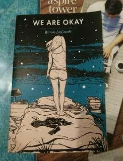 NEW We are okay Nina LaCour