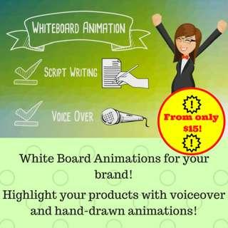 Cheap Whiteboard Video Animation for YOUR Brand!