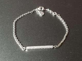 Authentic Bracelet Hearts of PANDORA 590513CZ (16CM)