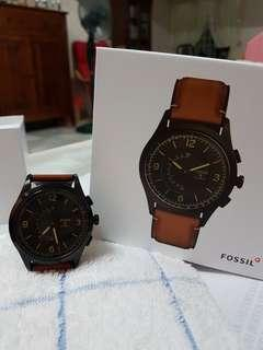 Fossil Hybrid Smartwatch Q- Luggage Leather