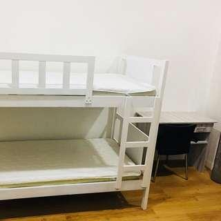 Double decker bed frame (frame only)