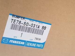 Mazda CX9 front bumper