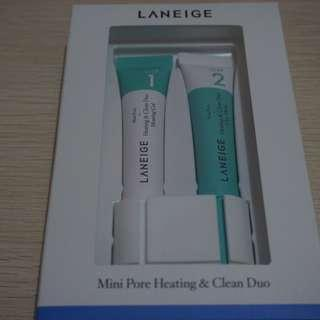 Laneige Mini Pore Heating and Clean Duo