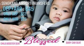 AIRPORT Transfer for families travelling with BABIES & KIDS