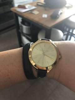 Like new Michael Kors wraparound watch