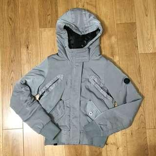 Bench women hooded bomber jacket size small