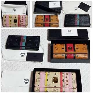 All Authentic MCM Wallet