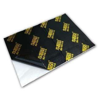Reduced Dampening, Heat Reflective Soundproofing