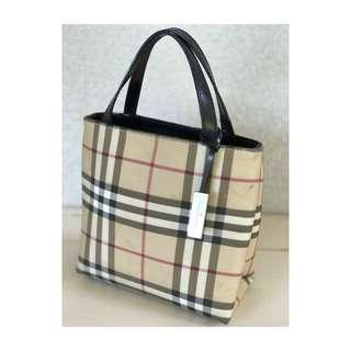 AUTHENTIC Burberry London Nova Check Tote