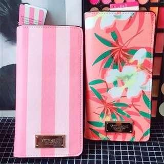 Victoria's Secret Woman Long Card Holder With Wallet