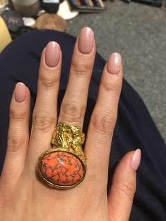 YSL arty ring size 6