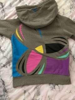 aritzia tna zip hoodie size s