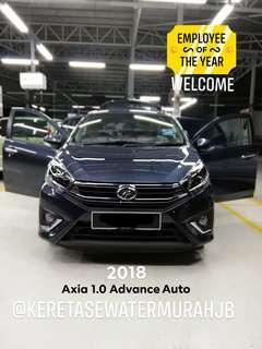 Car Rental Perodua Axia 2018