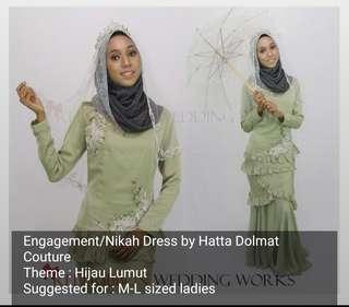 Designer Kurung Moden by Hatta Dolmat