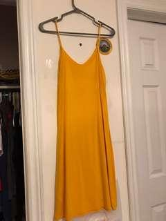 Mustard Yellow Tank Dress