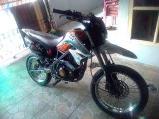 Kawasaki dtracker 150. Th 2013