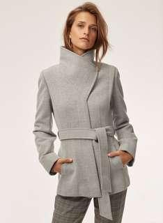 Aritzia Babaton Spencer wool jacket coat xs